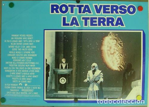 Cine: DD62D STAR TREK 4 MISION SALVAR LA TIERRA WILLIAM SHATNER NIMOY SET 6 POSTER ORIGINAL ITALIANO 47X68 - Foto 5 - 219749261
