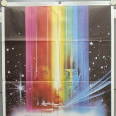 Cinema: PE92D STAR TREK LA PELICULA SHATNER NIMOY BOB PEAK POSTER ORIGINAL 70X100 ESTRENO. Lote 219753282