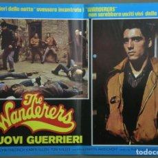 Cine: TW51D THE WANDERERS LAS PANDILLAS DEL BRONX KEN WAHL KAREN ALLEN SET 6 POSTERS ORIGINALES ITALIANOS. Lote 219771773