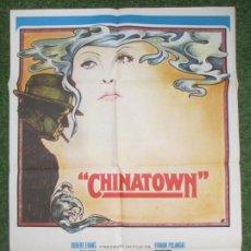 Cinema: CARTEL CINE, CHINATOWN, JACK NICHOLSON, FAYE DUNAWAY, 1974, C920. Lote 219838300