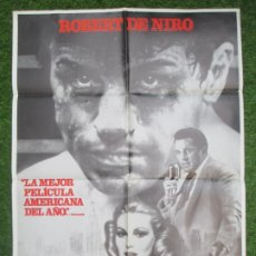 Cinéma: CARTEL CINE, TORO SALVAJE, ROBERT DE NIRO, 1980, C1280. Lote 219841900