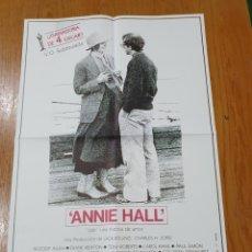 Cine: ANNIE HALL, CARTEL EDICIÓN LIMITADA NUMERADA DE 66X47 CM.. Lote 219925030