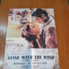 Cine: GONE WITH THE WIND, CARTEL EDICIÓN LIMITADA NUMERADA DE 66X47 CM.. Lote 219955790
