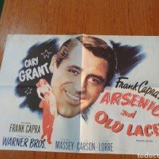 Cine: ARSÉNICO AND OLD LACE, CARTEL EDICIÓN LIMITADA NUMERADA DE 66X47 CM.. Lote 219956176