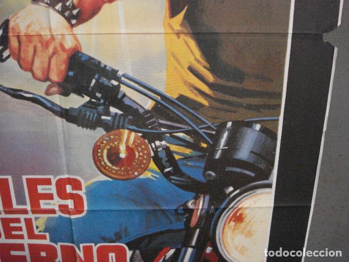 Cine: CDO 5781 LOS ANGELES DEL INFIERNO ROGER CORMAN PETER FONDA POSTER ORIGINAL 70X100 ESPAÑOL - Foto 8 - 220098022