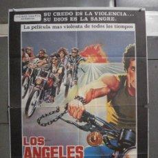 Cine: CDO 5781 LOS ANGELES DEL INFIERNO ROGER CORMAN PETER FONDA POSTER ORIGINAL 70X100 ESPAÑOL. Lote 220098022