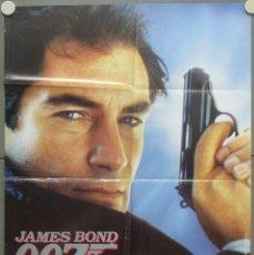 Cine: RH15D 007 ALTA TENSION JAMES BOND TIMOTHY DALTON POSTER ORIGINAL 70X100 AVANCE ESTRENO. Lote 220116097