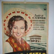Cine: BAJO EL CIELO DE ASTURIAS - 110 X 75 - 1964 - LITOGRAFICO. Lote 220143420