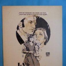 Cine: LA RECOGIDA - MARIA FERNANDA AYENSA - PRUEBA DE IMPRENTA POR MONTALBAN - AÑO 1976. Lote 220169030