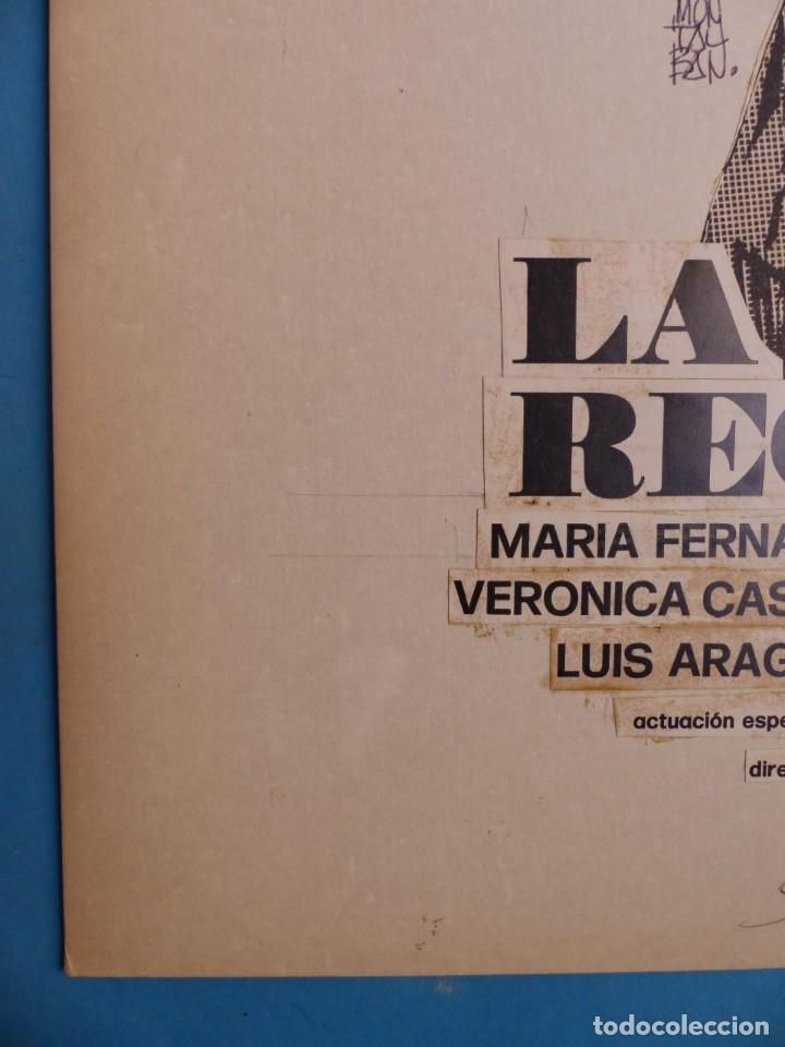 Cine: LA RECOGIDA - MARIA FERNANDA AYENSA - PRUEBA DE IMPRENTA POR MONTALBAN - AÑO 1976 - Foto 2 - 220169030