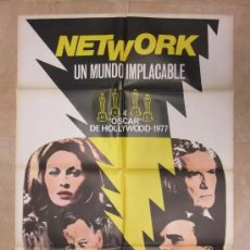 Cine: NETWORK, FAYE DUNAWAY, W. HOLDEN, R. DUVALL - AÑO 1976. Lote 15484199