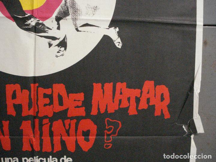 Cine: CDO 5792 QUIEN PUEDE MATAR A UN NIÑO NARCISO IBAÑEZ SERRADOR POSTER ORIGINAL 70X100 ESTRENO - Foto 7 - 220190796