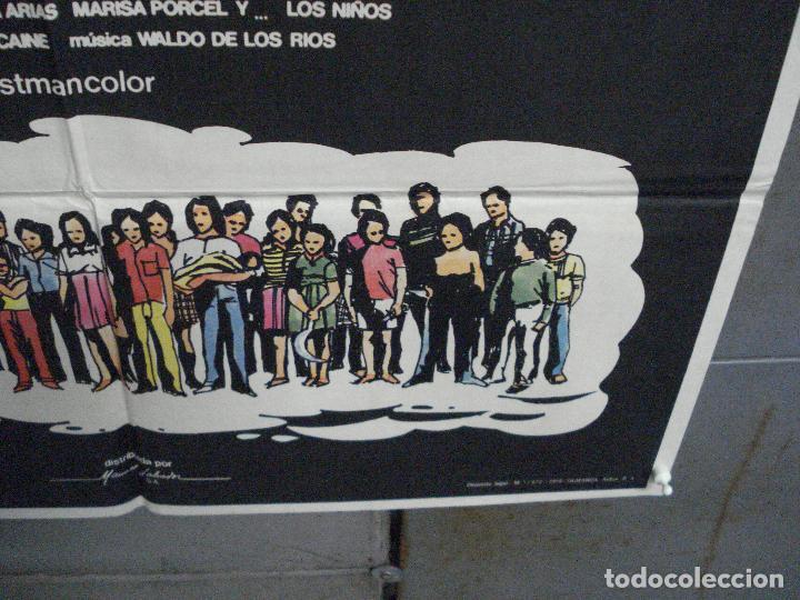 Cine: CDO 5792 QUIEN PUEDE MATAR A UN NIÑO NARCISO IBAÑEZ SERRADOR POSTER ORIGINAL 70X100 ESTRENO - Foto 9 - 220190796