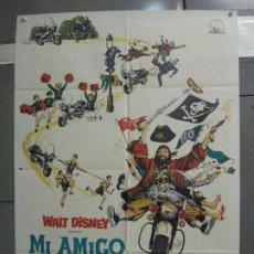 Cinema: CDO 5815 MI AMIGO EL FANTASMA WALT DISNEY PETER USTINOV POSTER ORIGINAL 70X100 ESTRENO. Lote 220244122