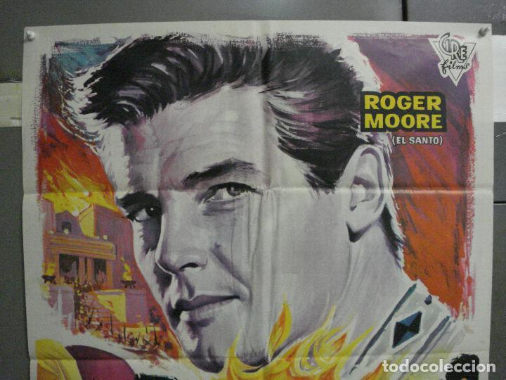 Cine: CDO 5858 EL RAPTO DE LAS SABINAS ROGER MOORE PEPLUM POSTER ORIGINAL 70X100 ESTRENO - Foto 2 - 220260142