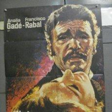 Cine: CDO 5873 NADA MENOS QUE TODO UN HOMBRE FRANCISCO RABAL ANALIA GADE POSTER ORIG ESTRENO 70X100. Lote 220265832