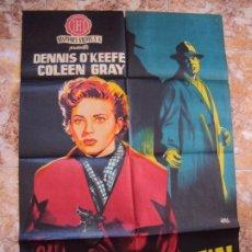 Cine: (CINE-600)FRAUDE CRIMINAL DENNIS O'KEEFE COLEEN GRAY JANO POSTER ORIGINAL. Lote 220276492