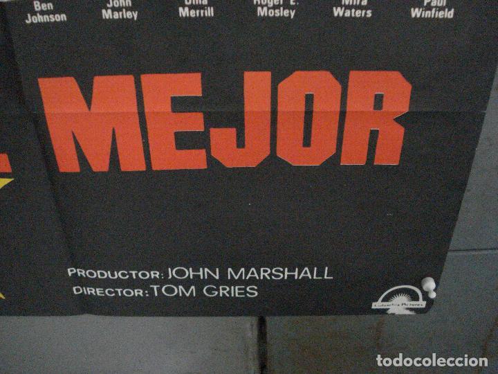 Cine: CDO 5883 YO EL MEJOR MUHAMMAD ALI CASSIUS CLAY BOXEO POSTER ORIGINAL 70X100 ESTRENO - Foto 9 - 220357235