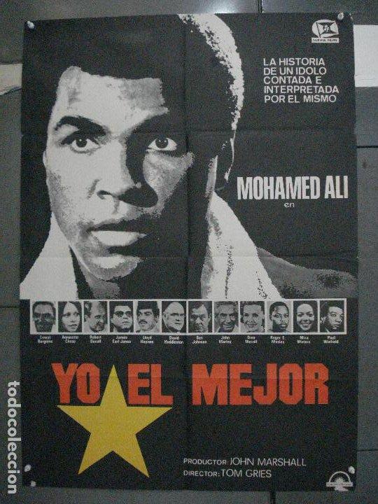 CDO 5883 YO EL MEJOR MUHAMMAD ALI CASSIUS CLAY BOXEO POSTER ORIGINAL 70X100 ESTRENO (Cine - Posters y Carteles - Deportes)