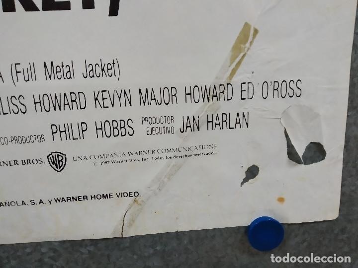 Cine: LA CHAQUETA METALICA, Stanley Kubrick, Matthew Modine - 2 POSTERS ORIGINALES - ESTRENO Y CRITICA - Foto 8 - 220395218