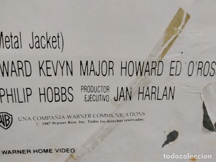 Cine: LA CHAQUETA METALICA, Stanley Kubrick, Matthew Modine - 2 POSTERS ORIGINALES - ESTRENO Y CRITICA - Foto 9 - 220395218