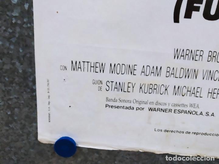 Cine: LA CHAQUETA METALICA, Stanley Kubrick, Matthew Modine - 2 POSTERS ORIGINALES - ESTRENO Y CRITICA - Foto 11 - 220395218