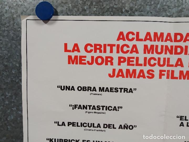 Cine: LA CHAQUETA METALICA, Stanley Kubrick, Matthew Modine - 2 POSTERS ORIGINALES - ESTRENO Y CRITICA - Foto 15 - 220395218