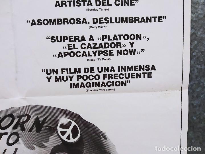 Cine: LA CHAQUETA METALICA, Stanley Kubrick, Matthew Modine - 2 POSTERS ORIGINALES - ESTRENO Y CRITICA - Foto 17 - 220395218
