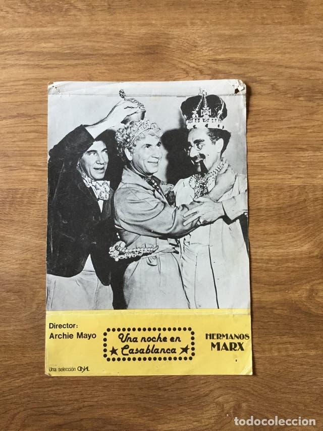 MINI POSTER HERMANOS MARX (Cine - Posters y Carteles - Comedia)