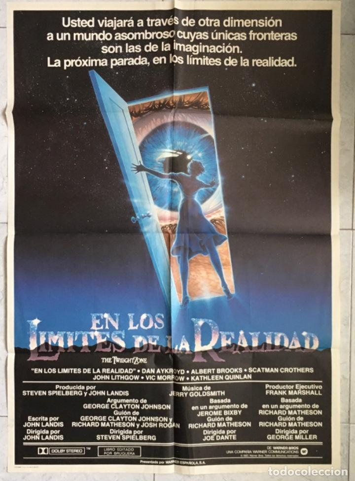 EN LOS LÍMITES DE LA REALIDAD. CARTEL CINE. (Cine - Posters y Carteles - Ciencia Ficción)
