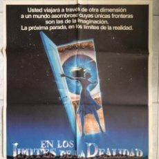 Cine: EN LOS LÍMITES DE LA REALIDAD. CARTEL CINE.. Lote 220449308