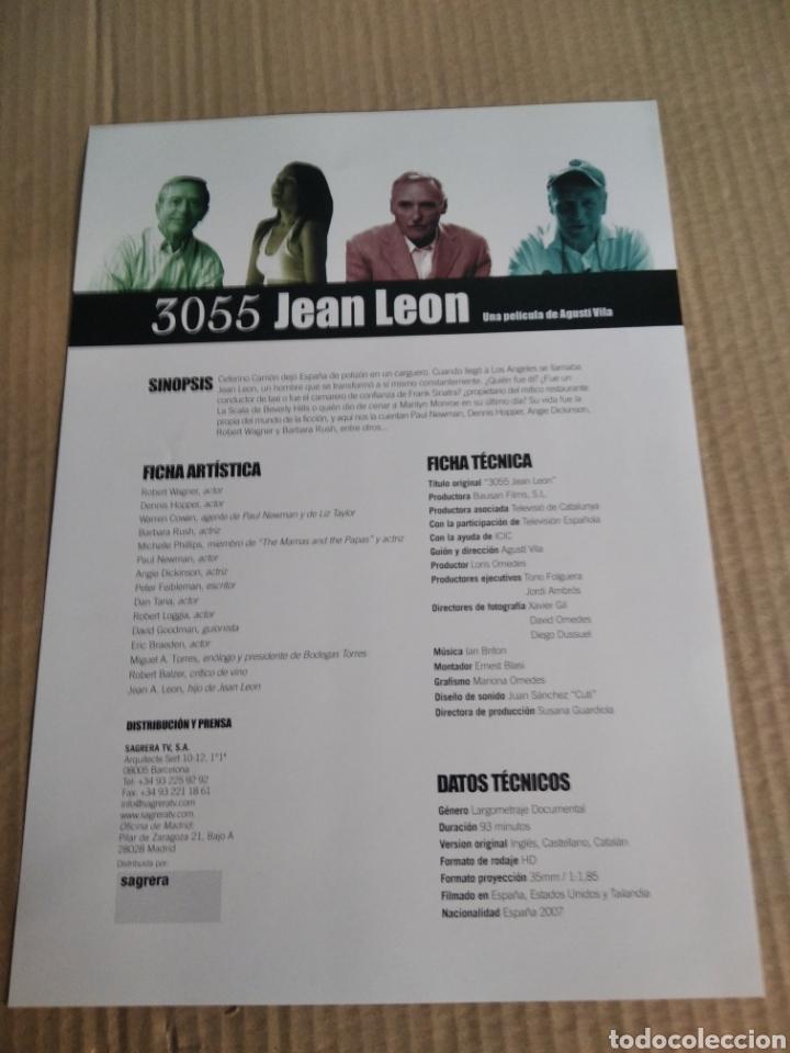 Cine: Cartel de cine pelicula 3055 Jean León - Foto 2 - 220577038
