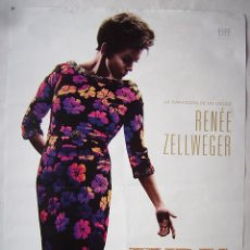 Cinema: JUDY, CON RENÉE ZELLWEGER. PÓSTER 68,5 X 97,5 CMS.. Lote 220799816