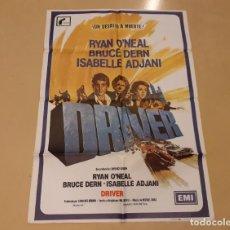 Cinema: DRIVER CARTEL ORIGINAL ESTRENO 1982 WALTER HILL, RYAN O'NEAL, BRUCE DERN. Lote 220849485