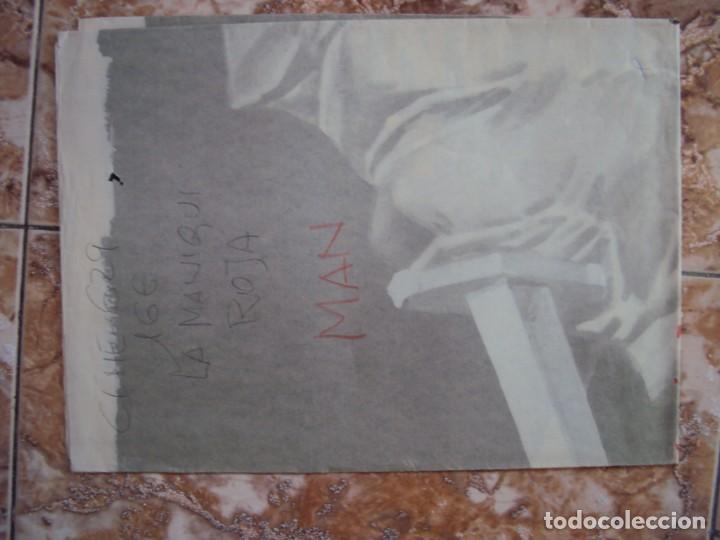 Cine: (CINE-629)LA MANIQUÍ ROJA ANITA BJORK POSTER ORIGINAL - Foto 4 - 220852770