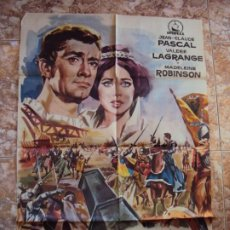 Cine: (CINE-636) LA CORONA ENCADENADA JEAN-CLAUDE PASCAL VALERIE LAGRANGE POSTER ORIGINAL. Lote 220855241