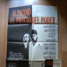 Cine: POS-4- POSTER Y LA GUIA DE LA PELICULA -..ALPACINO EN EL PRECIO DEL PODER. Lote 220871948