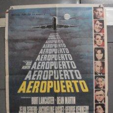 Cine: CDO 5981 AEROPUERTO DEAN MARTIN BURT LANCASTER POSTER ORIGINAL ESPAÑOL 70X100 ESTRENO. Lote 220876226