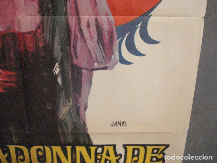 Cine: CDO 5985 LA MADONNA DE LAS SIETE LUNAS STEWART GRANGER PHYLLIS CALVER POSTER ORIGINAL 70X100 R-71 - Foto 8 - 220877592