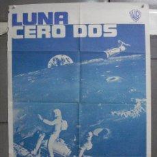 Cinéma: CDO 5988 LUNA CERO DOS HAMMER CIENCIA FICCION POSTER ORIGINAL 70X100 ESTRENO. Lote 220880248