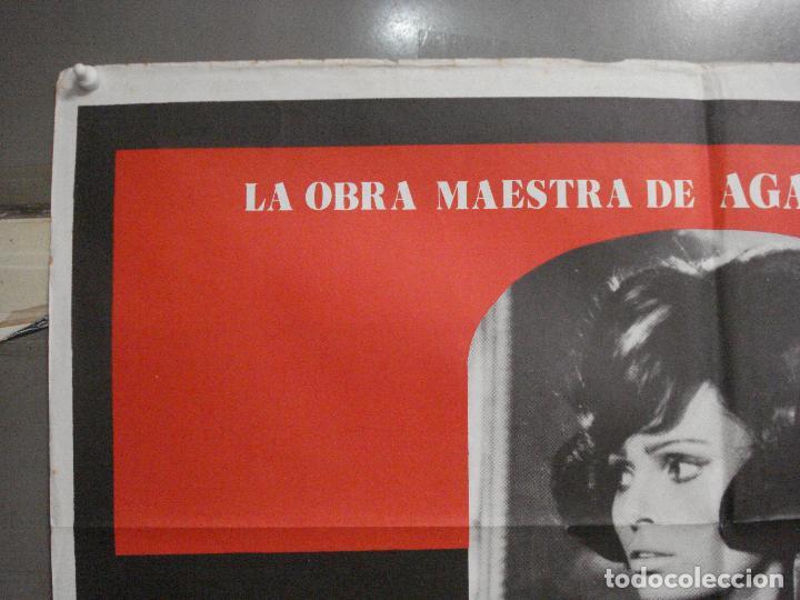 Cine: CDO 5989 DIEZ NEGRITOS SHIRLEY EATON AGATHA CHRISTIE POSTER ORIGINAL 70X100 ESPAÑOL R-82 - Foto 2 - 220880626