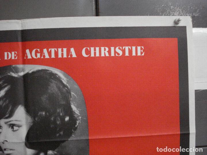 Cine: CDO 5989 DIEZ NEGRITOS SHIRLEY EATON AGATHA CHRISTIE POSTER ORIGINAL 70X100 ESPAÑOL R-82 - Foto 6 - 220880626