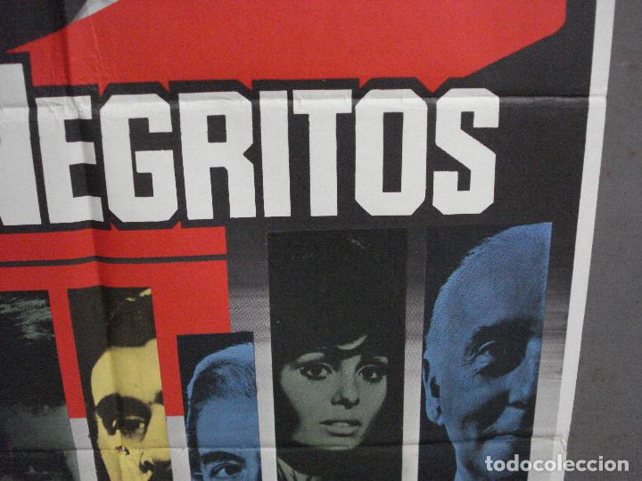 Cine: CDO 5989 DIEZ NEGRITOS SHIRLEY EATON AGATHA CHRISTIE POSTER ORIGINAL 70X100 ESPAÑOL R-82 - Foto 8 - 220880626