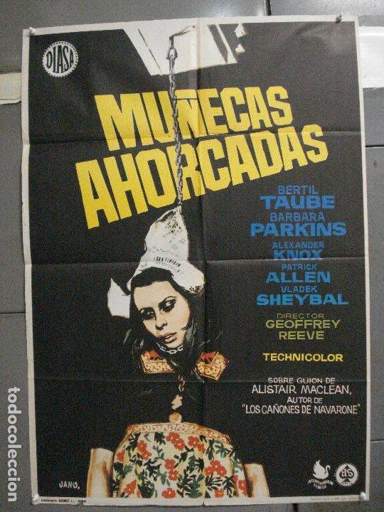 CDO 5996 MUÑECAS AHORCADAS BARBARA PARKINS JANO POSTER ORIGINAL 70X100 ESTRENO (Cine - Posters y Carteles - Suspense)