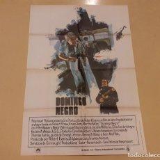 Cinema: DOMINGO NEGRO (BLACK SUNDAY) CARTEL ORIGINAL ESTRENO 1977 FRANKENHEIMER, ROBERT SHAW, BRUCE DERN. Lote 220949820