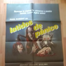 Cine: POS-- POSTER DE LA PELICULA -.. LATIDOS DE PANICO. Lote 220961482