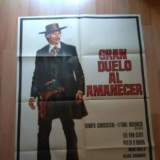 Cine: POS-- POSTER DE LA PELICULA - GRAN DUELO AL AMANECER. Lote 220963291
