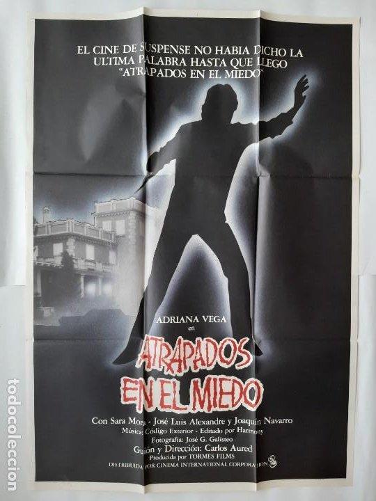 CARTEL CINE ATRAPADOS EN EL MIEDO C711 (Cine - Posters y Carteles - Suspense)