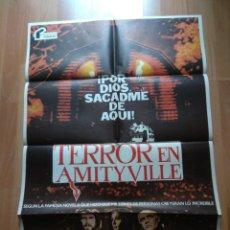 Cine: POS-- POSTER DE LA PELICULA - TERROR EN AMITYVILLE. Lote 220967330