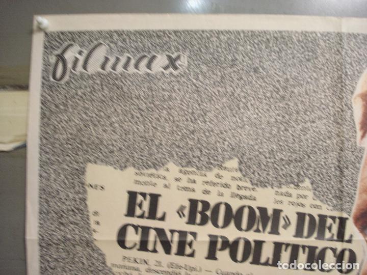 Cine: CDO 6036 EL ATENTADO JEAN-LOUIS TRINTIGNANT POSTER ORIGINAL 70X100 ESTRENO - Foto 2 - 220967936